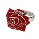 Guess Red Rose Ring